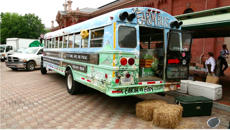 Coolest thing ever—The Farm Bus